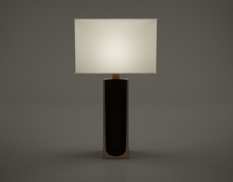 holly hunt table lamp 3d max