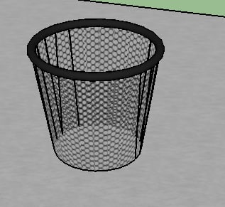 office bin 3d model