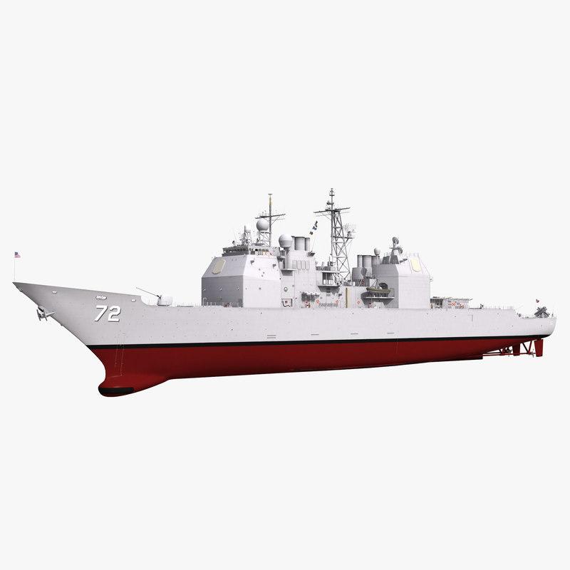 max ticonderoga class cruiser vella