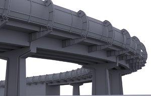 3d overpass 2 model