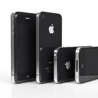 3d model iphone 4