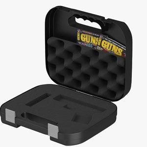 glock pistol case 3d model