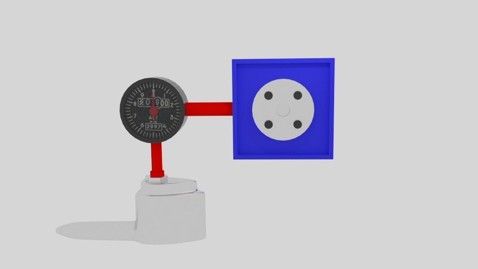 Pitot tube simple 3d model Simple 3d modeling online