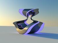 Sculpture violet
