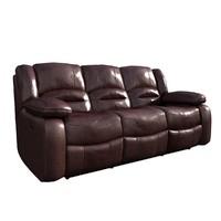 max cognac sofa reclining