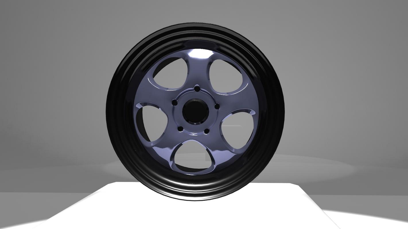 car rim work meister 3d max