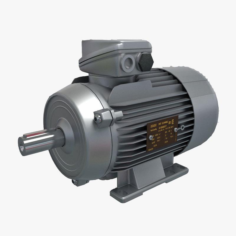 3d electric motor