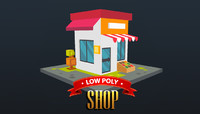 Low Poly Shop
