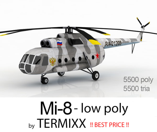 helicopter mi-8 max