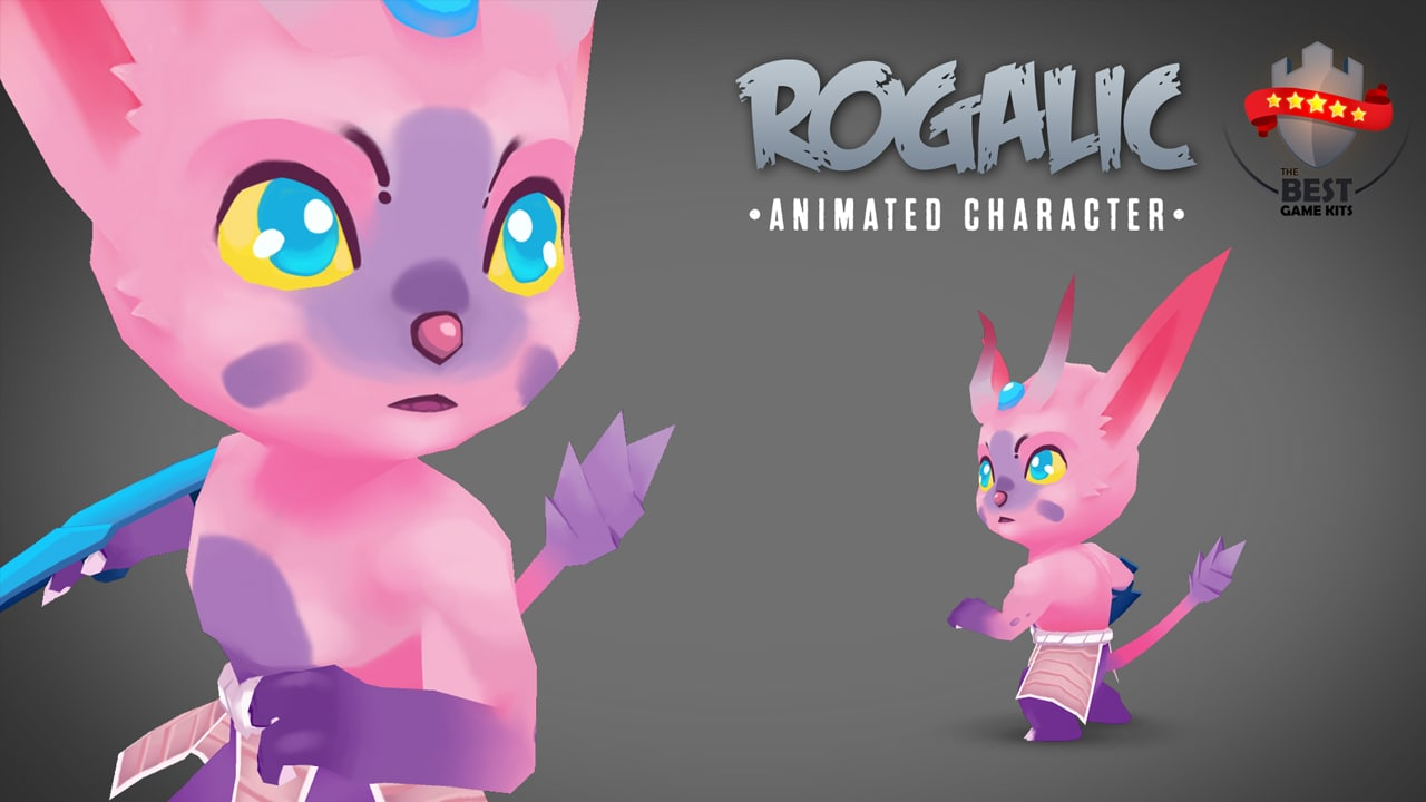 2 animations 3d model