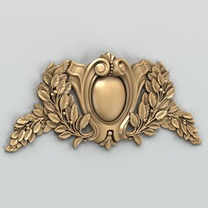 max decorative cartouche