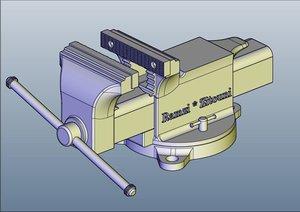 binding drawn 3d model
