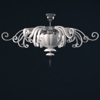 alicante white pl4 euroluce 3d model