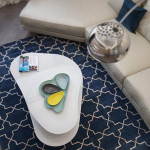 attelanitalia atollo twin coffee table 3d model