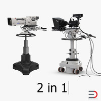 TV Studio Cameras Collection