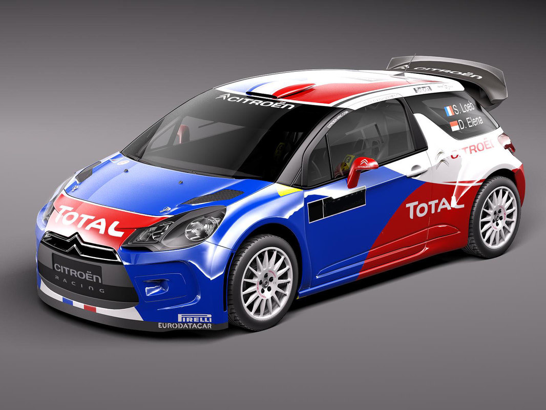 Citroen Ds3 Rally Car
