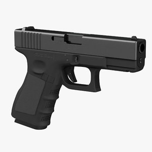 3d model glock 19