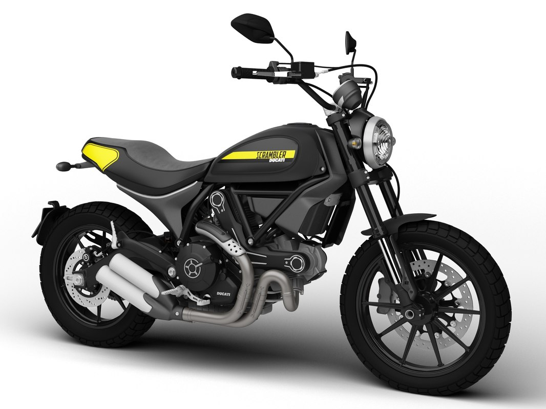 3d ducati scrambler throttle 2016 model