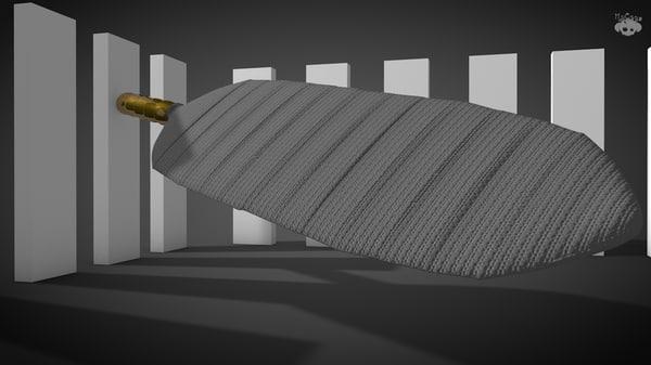 3d samehada sword model