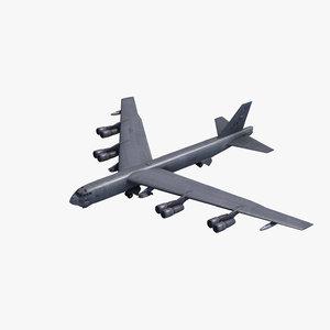 b-52h bomber 3ds