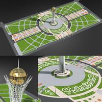 max bayterek monument astana khazakhstan