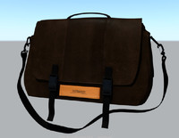 travel bag 3d obj