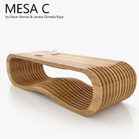 3d max mesa c coffee table