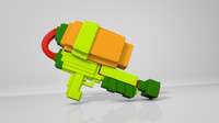 splatoon weapon pack c4d