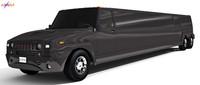 Hummer Limousine Black