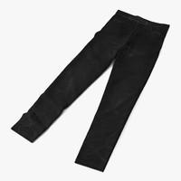 3d c4d jeans black
