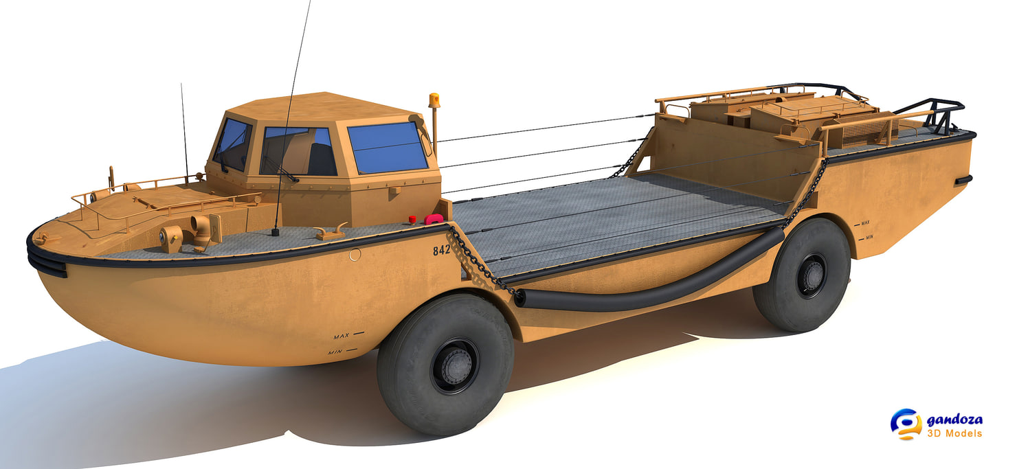 larc-v amphibious army vehicle max