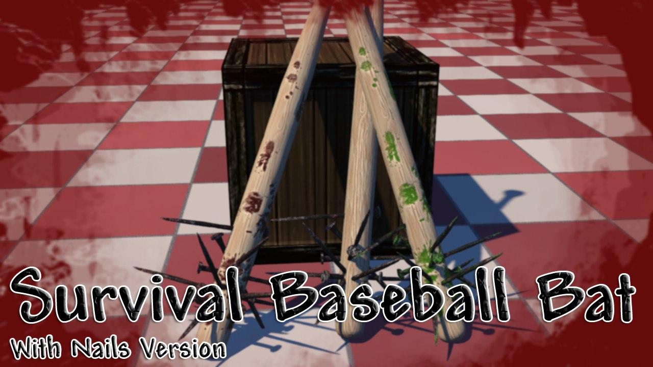 free 3ds mode baseball bat nails