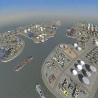 3d port complex