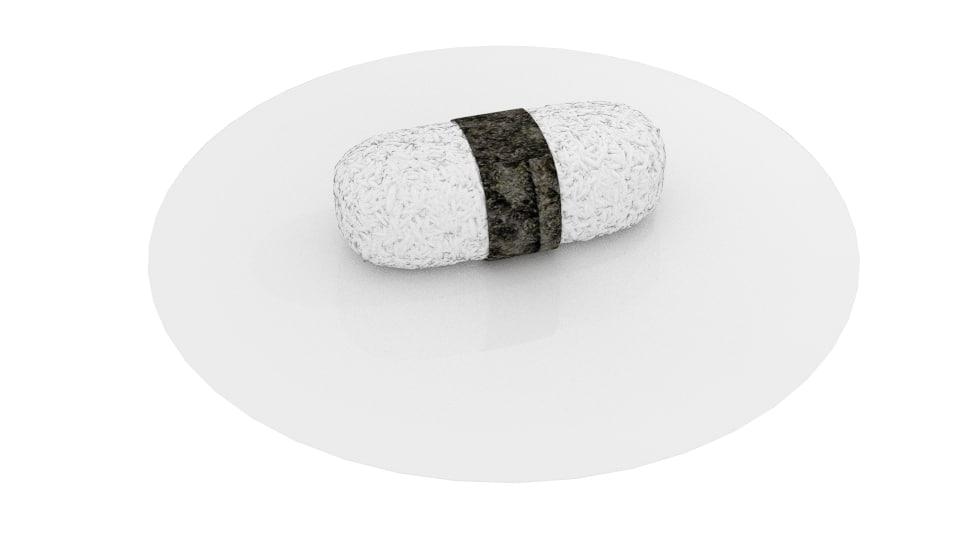 sushi 3d 3ds