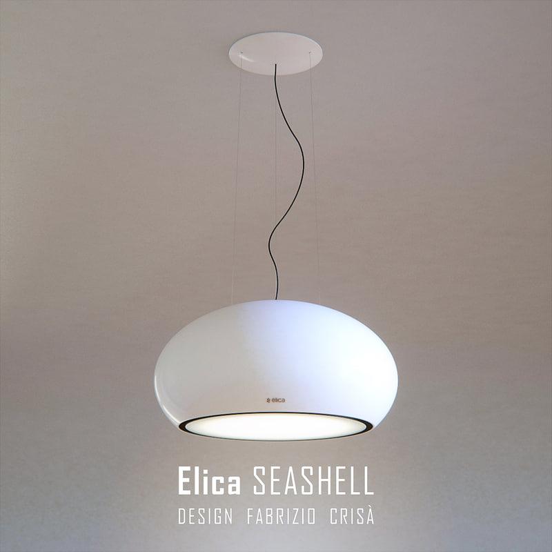elica seashell 3d max