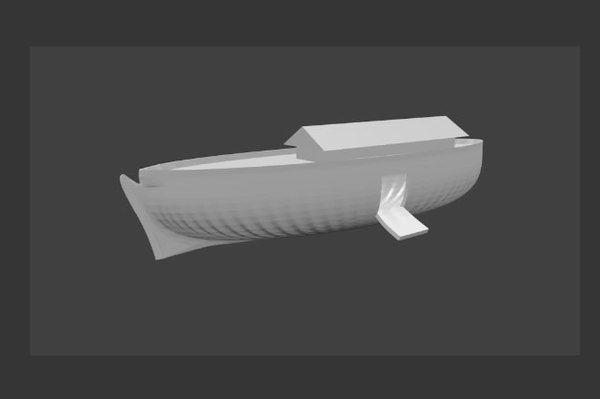 3d noah ark model