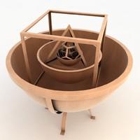 keplers scheme 3d model