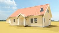 3d mimer house model