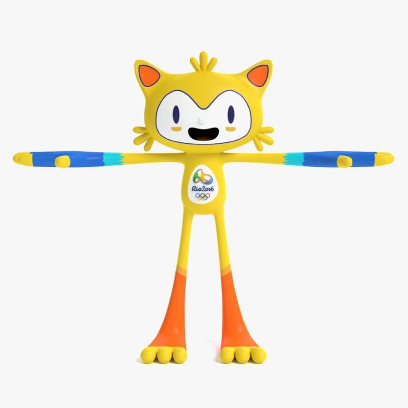 2016 olympic cat mascot max
