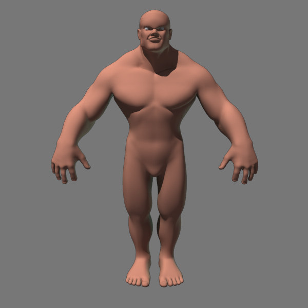 animation character 3d model