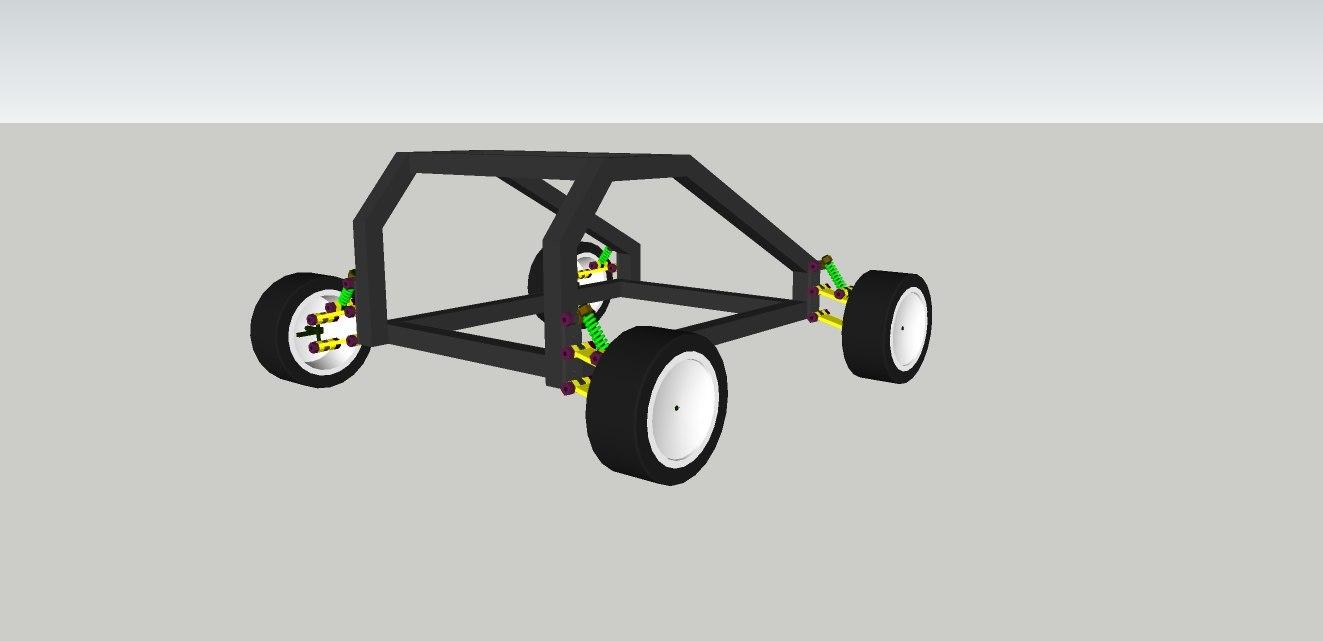 rc buggy car 3d model