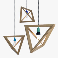 3d lightframe hanging lamp lighting