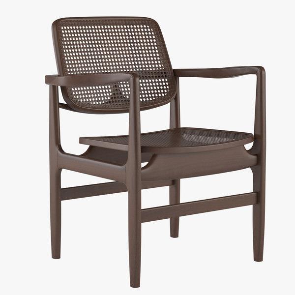 armchair linbrasil 3d max
