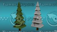 free 3ds model pigart trees