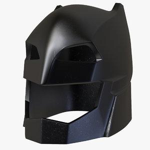 batman helmet 3d c4d
