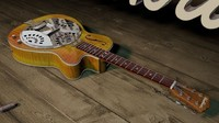 3d washburn r45rce guitar