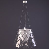 3d model of romeo louis ii pendant lamp