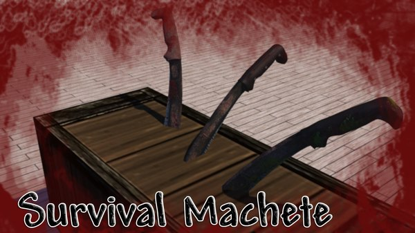 survival macete c4d free