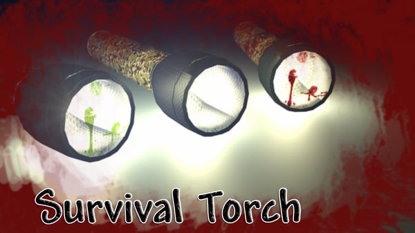 free survival torch 3d model