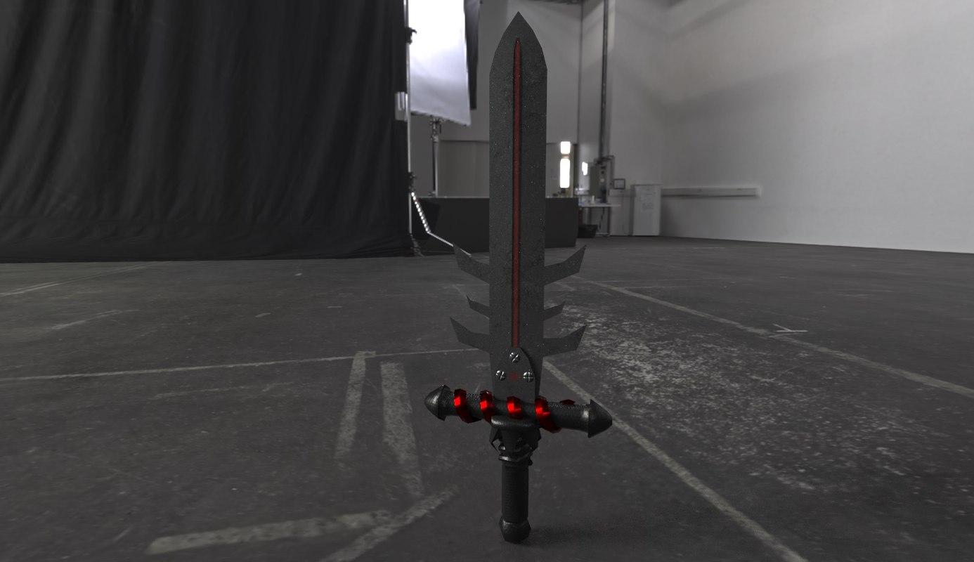 sword gameready obj